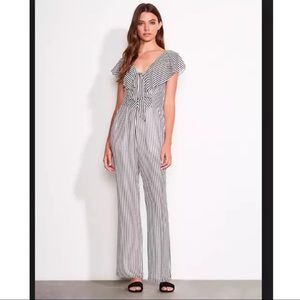 Ali & Jay Cherry on Top Womens Striped Jumpsuit